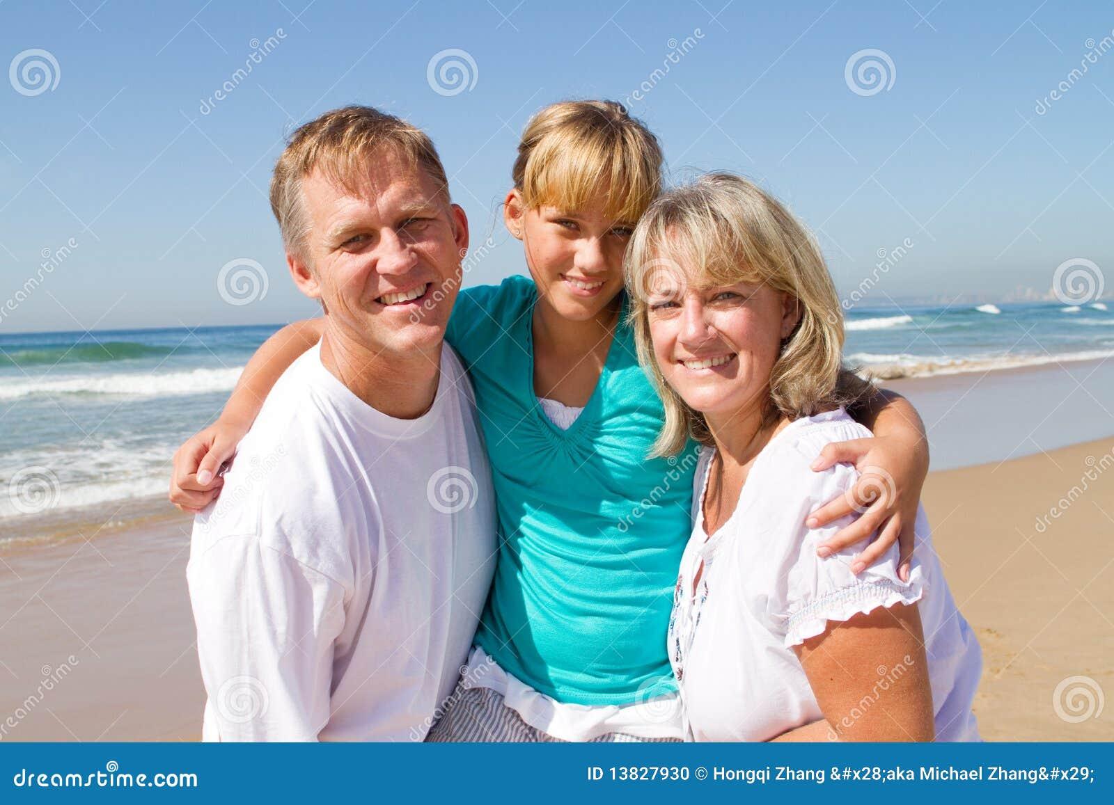 Ouders en tienerdochter