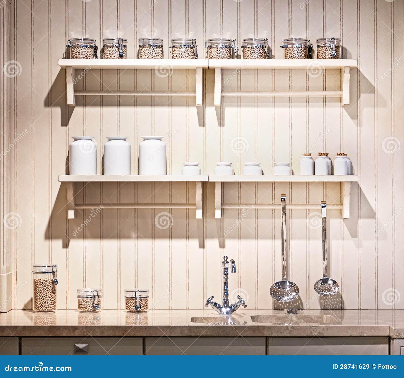 Keukenplank Met Verlichting : Old-Fashioned Kitchen