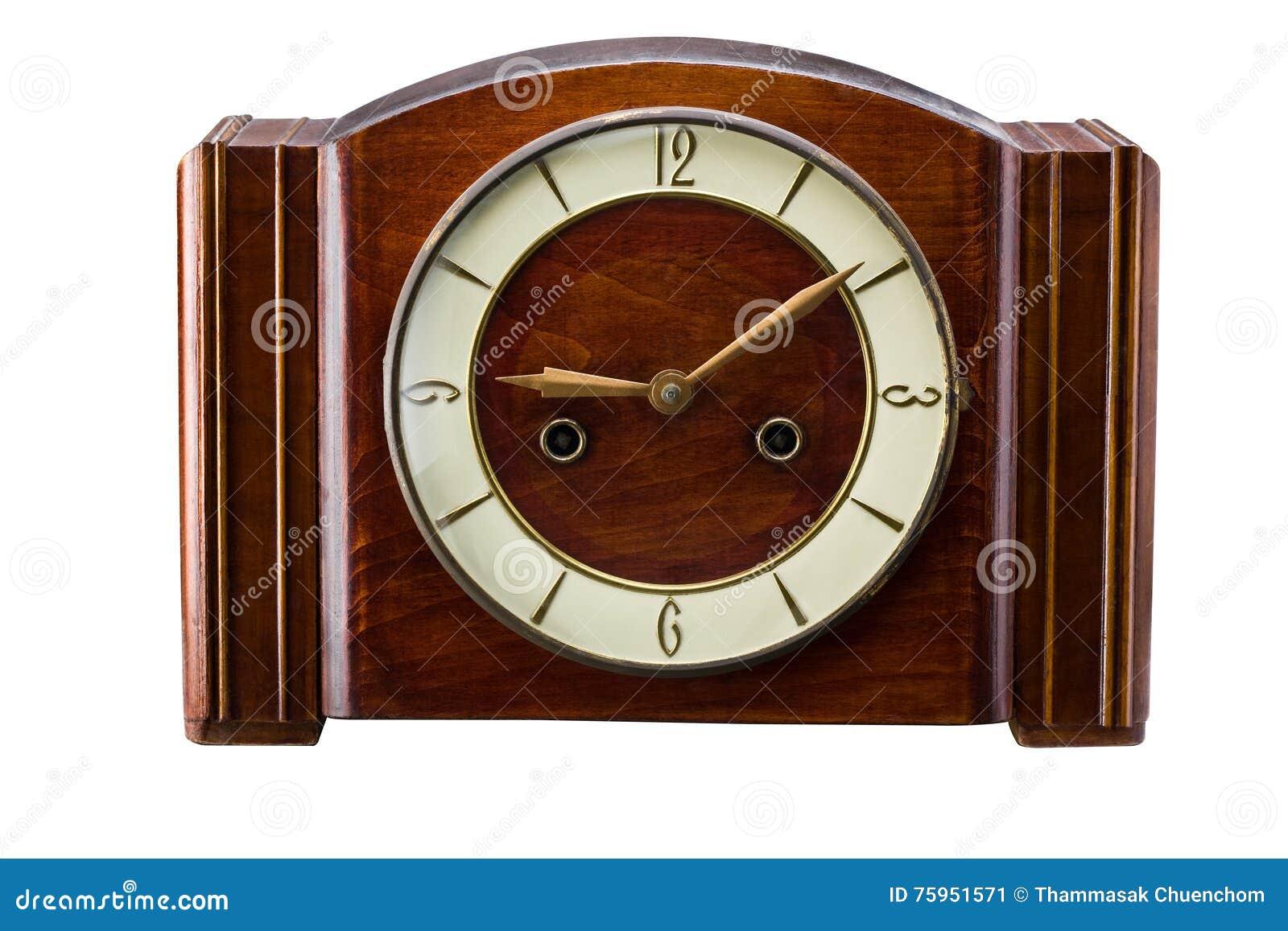 Ongebruikt Ouderwetse Klok stock afbeelding. Afbeelding bestaande uit PP-28