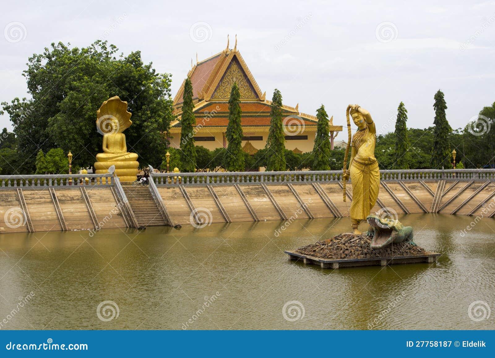 Oudong, capital velho de cambodia