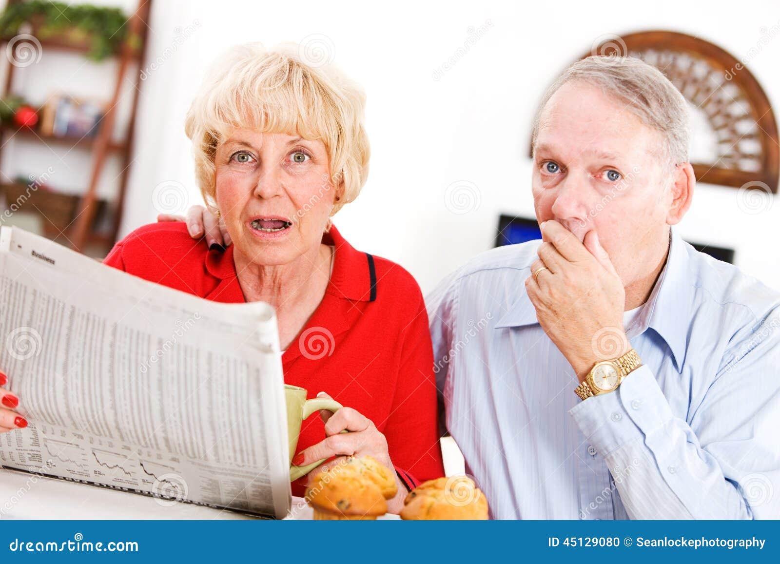 Oudsten: Paar door iets in Krant wordt geschokt die