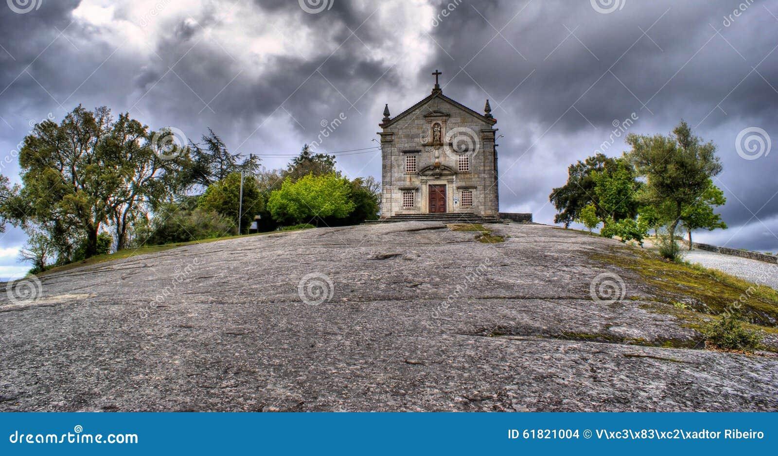 Our Lady of Pilar sanctuary in Povoa de Lanhoso