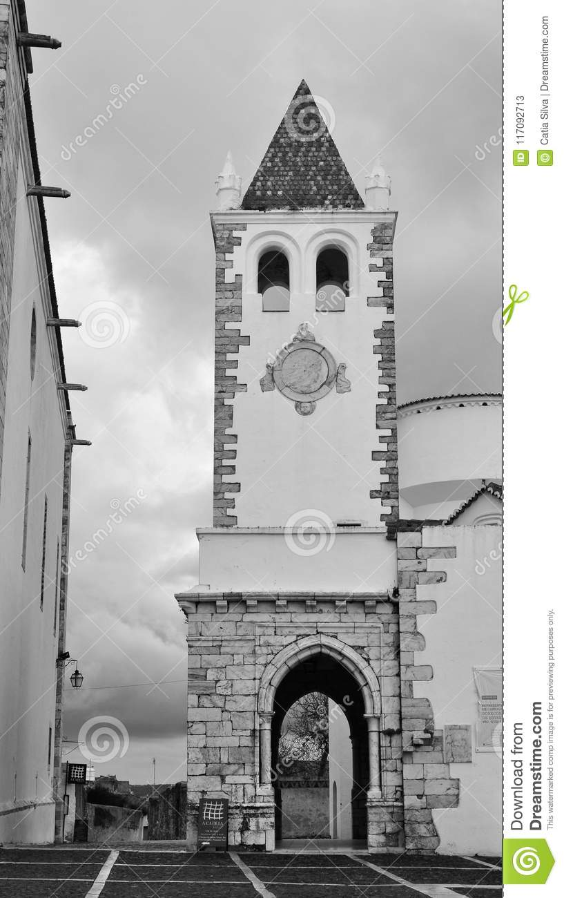 Our Lord Of The Innocents Chapel The Tower In Black And