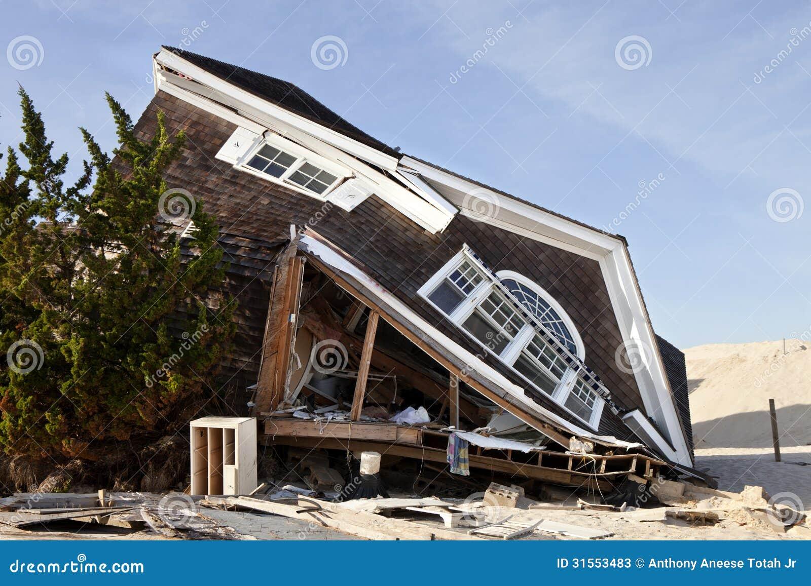 Ouragan Sandy Damage