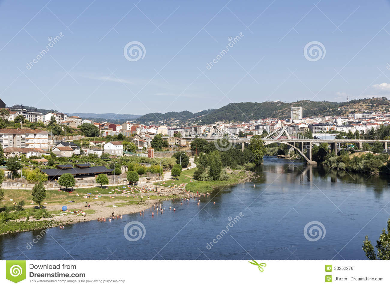 Ourense Spain  City pictures : Ourense, Galicia, Spain Royalty Free Stock Image Image: 33252276
