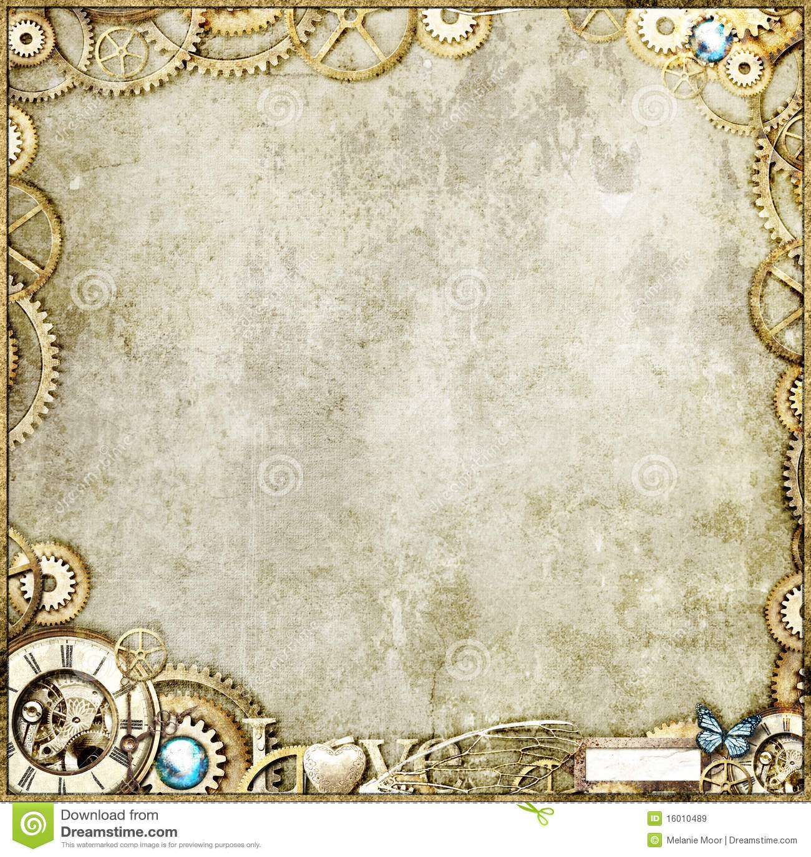 Ouro de Steampunk