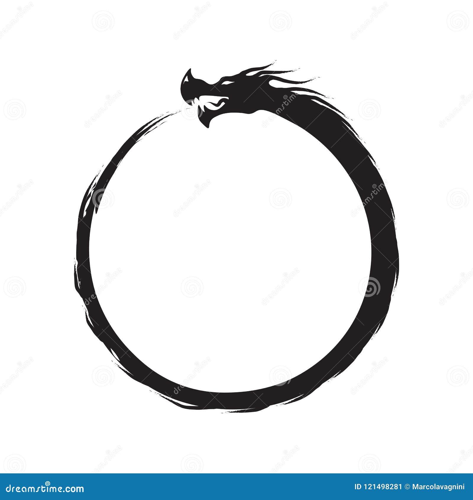 Ouroboros nieskończoności symbol