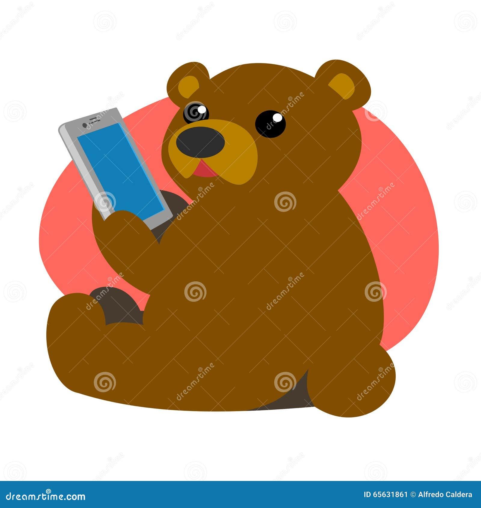 Ours avec un comprimé