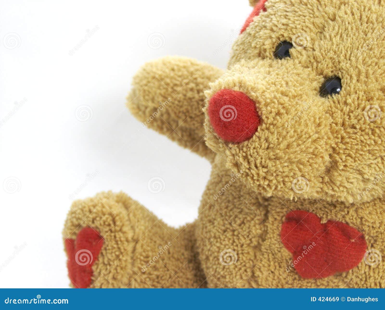 Ours de nounours de la chaleur d 39 amour images libres de droits image 424669 - Coeur nounours ...
