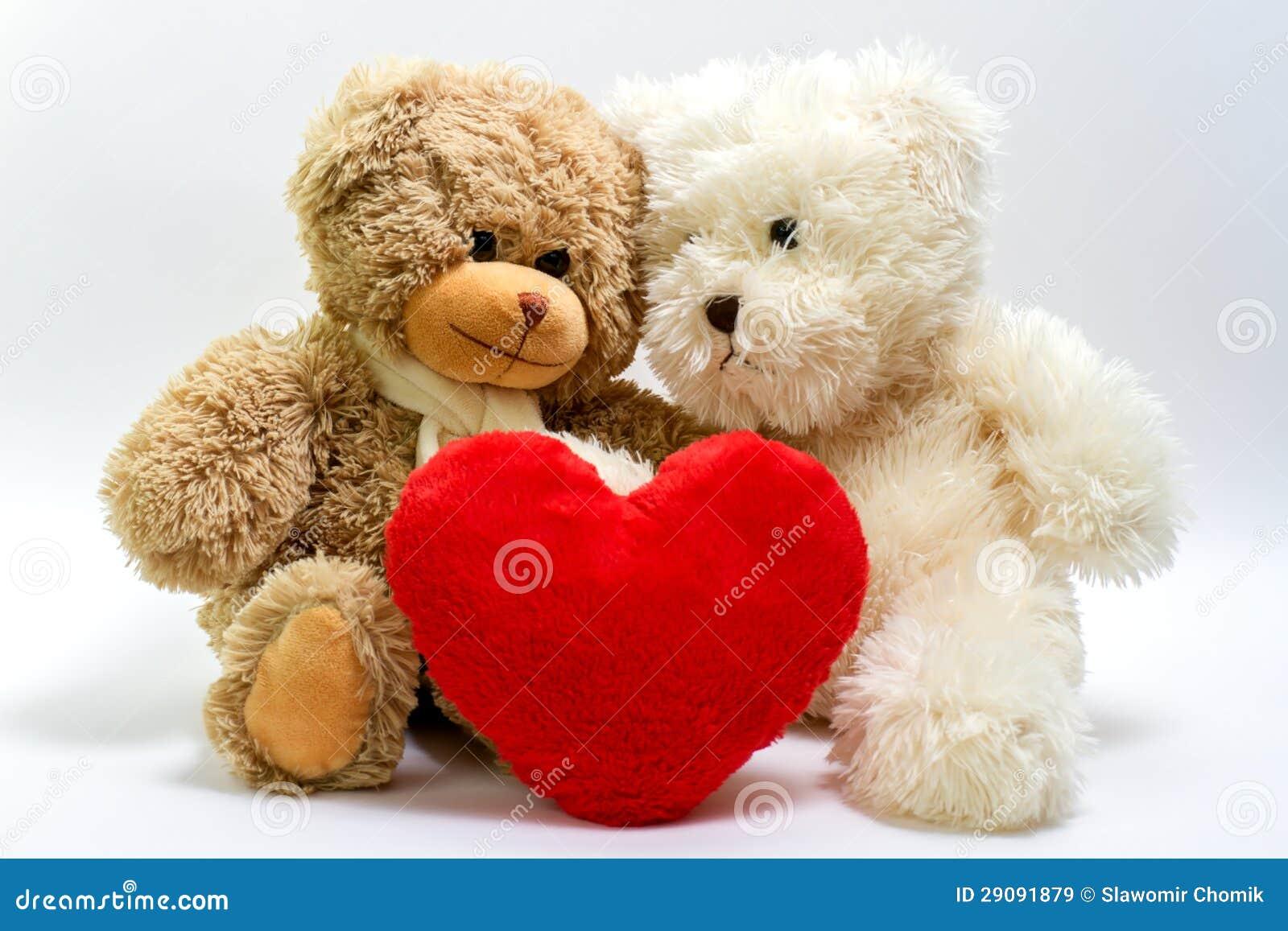Ours de nounours pour la saint valentin images libres de droits image 29091879 - Coeur nounours ...