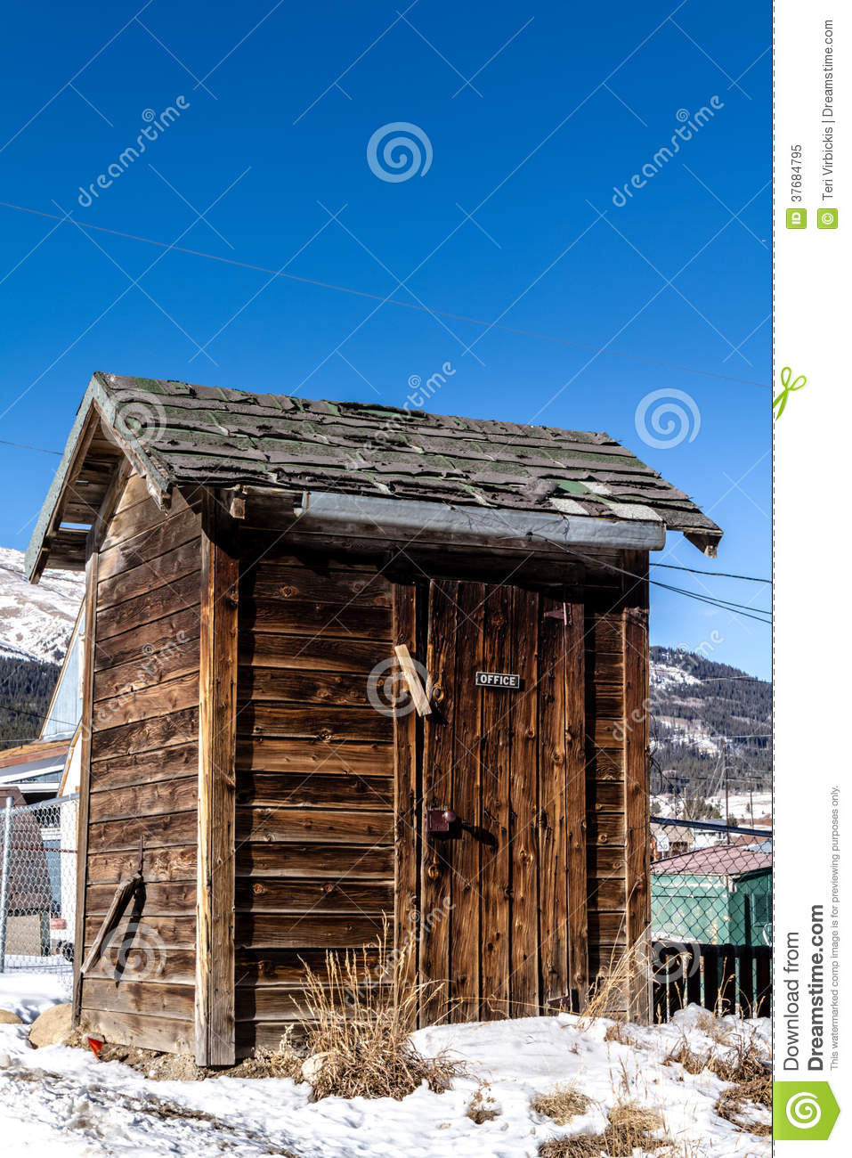 Out House Bathroom Office Royalty Free Stock Photo Image - Outhouse bathroom