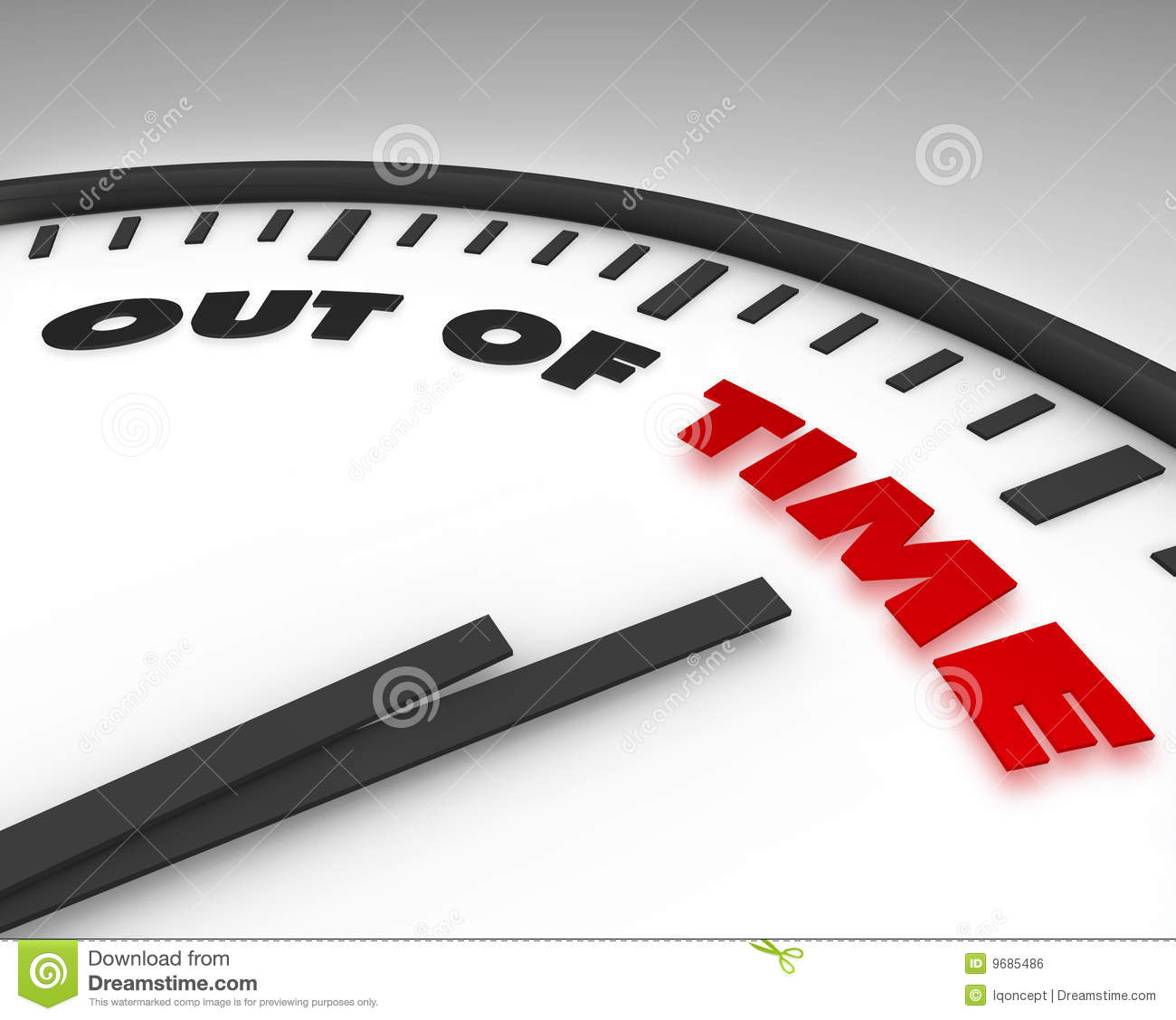 Out of Time - Clock