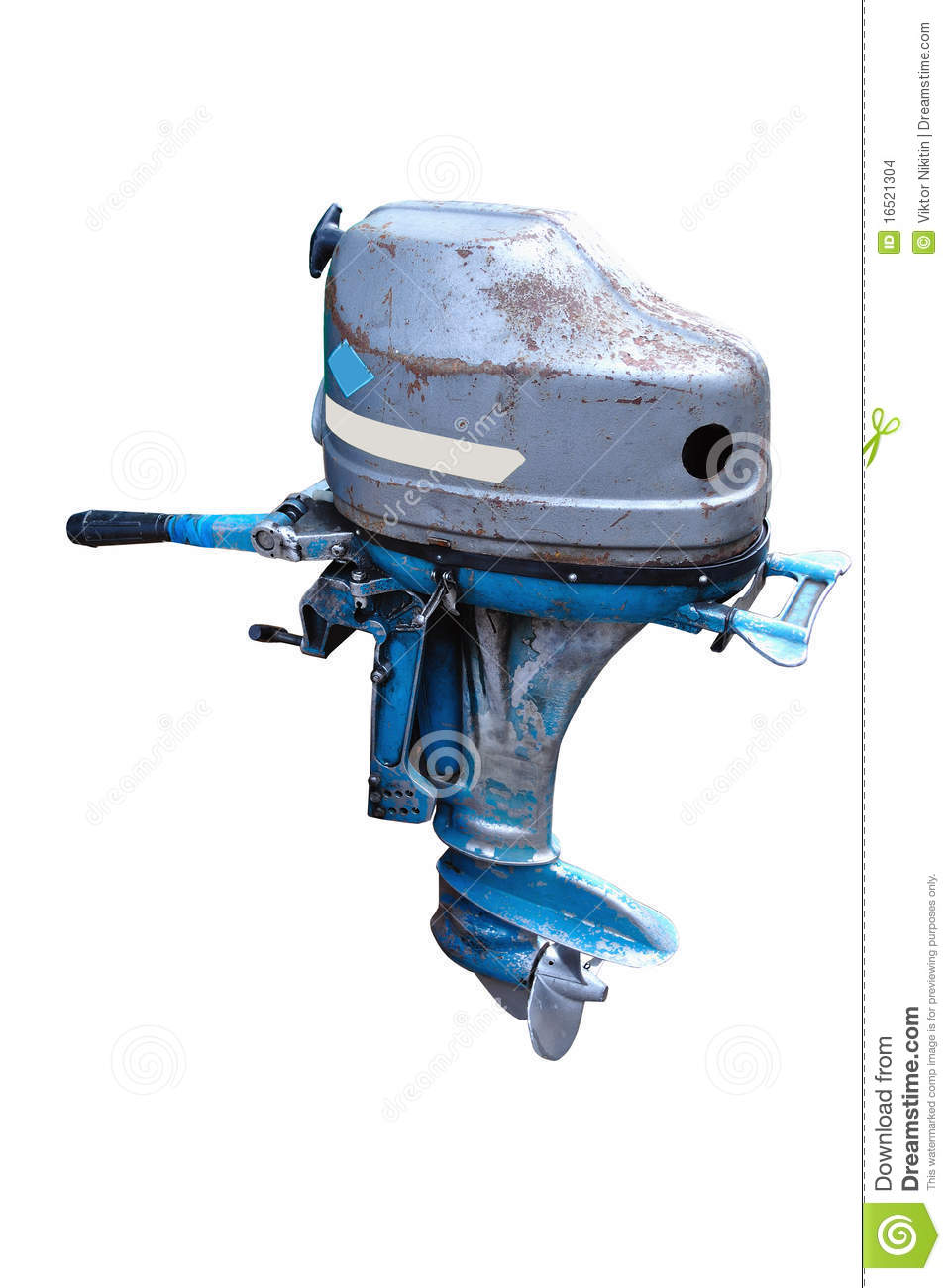 Outboard Motor. Made In The USSR Stock Images - Image: 16521304