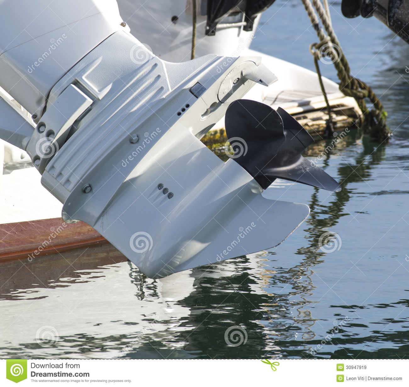 Outboard Motor Propeller Royalty Free Stock Images Image