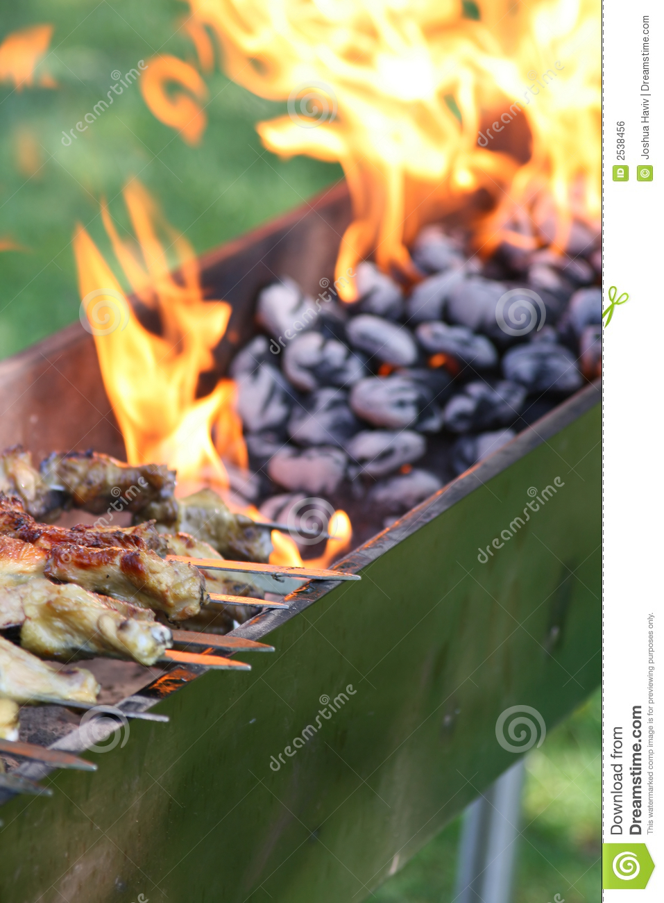 Outdoor Barbecue Grill Royalty Free Stock Image - Image: 2538456