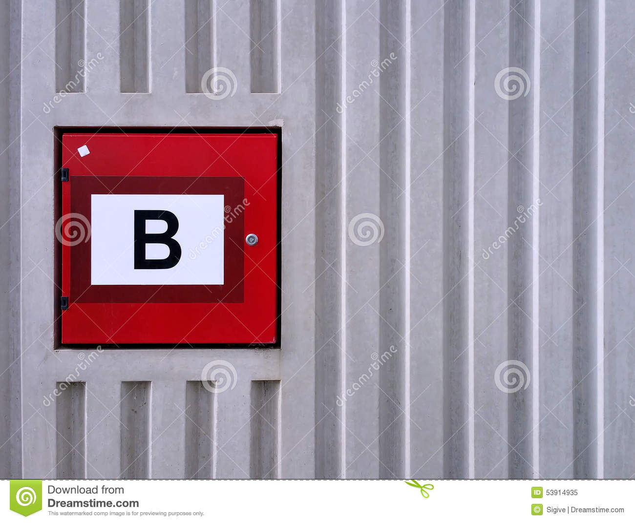 Fire Equipment Cabinet Outdoor Hydrant Fire Hose Box Stock Photos Images Pictures