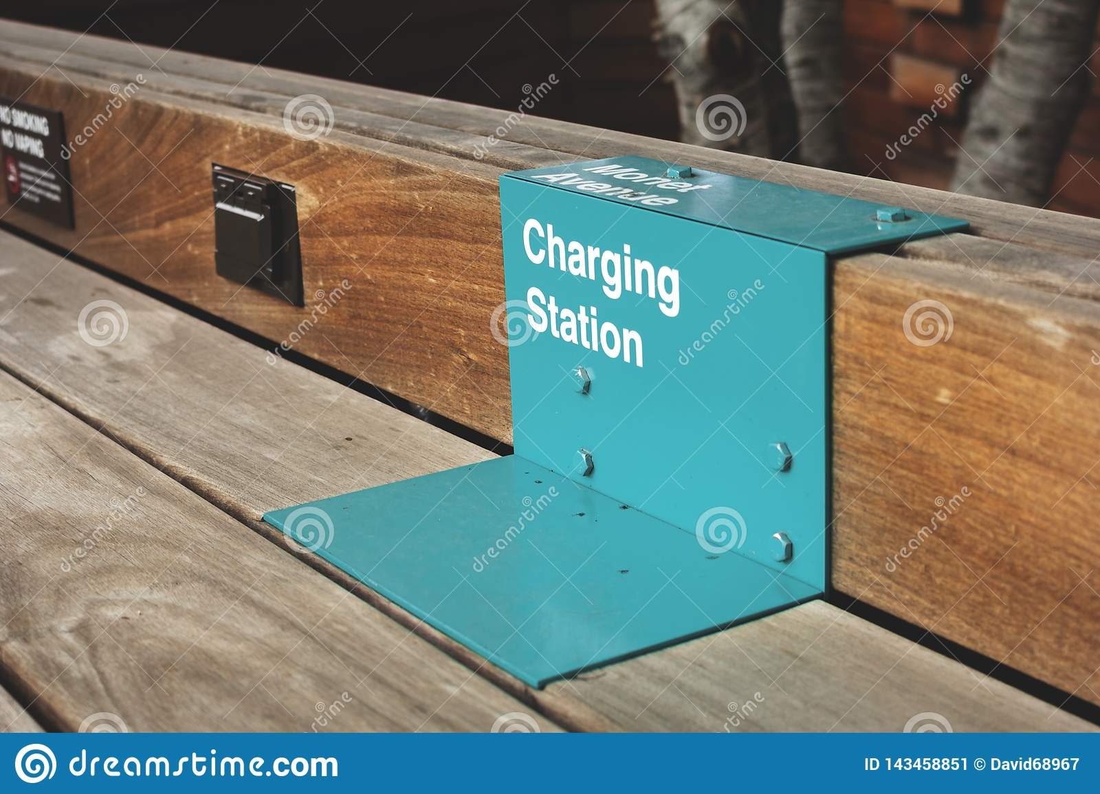 Charging station for cell phones