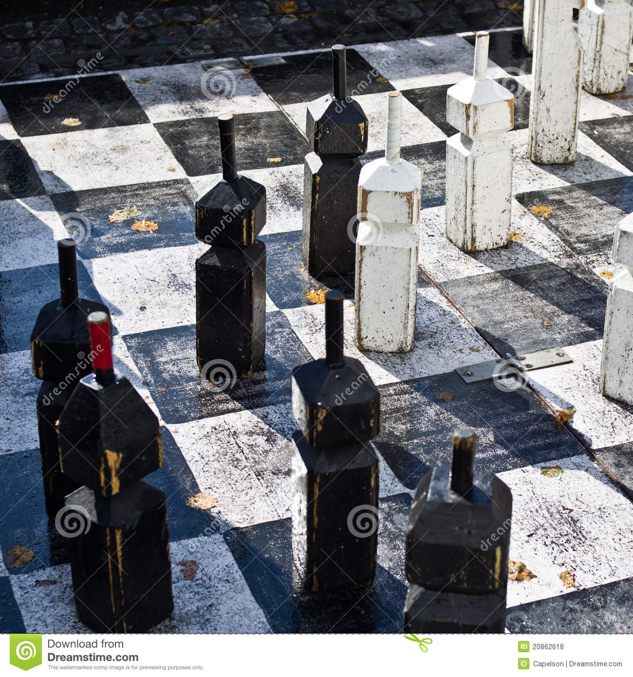 Outdoor chess royalty free stock photos image 20862618 - Chess nice image ...