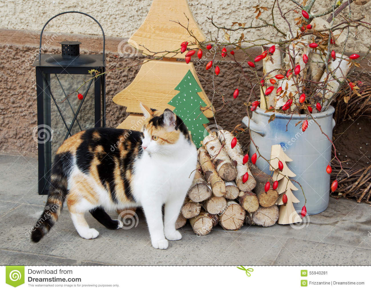 Christmas cat outdoor decorations for Christmas cat yard decorations