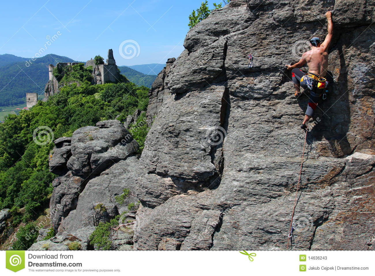 Outdoor Climbing Stock s Image