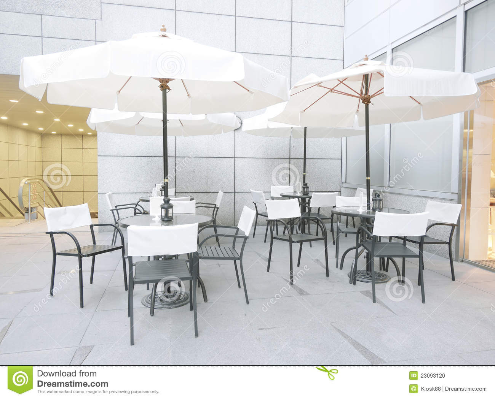 Outdoor Coffee Shop Stock Photo Image 23093120