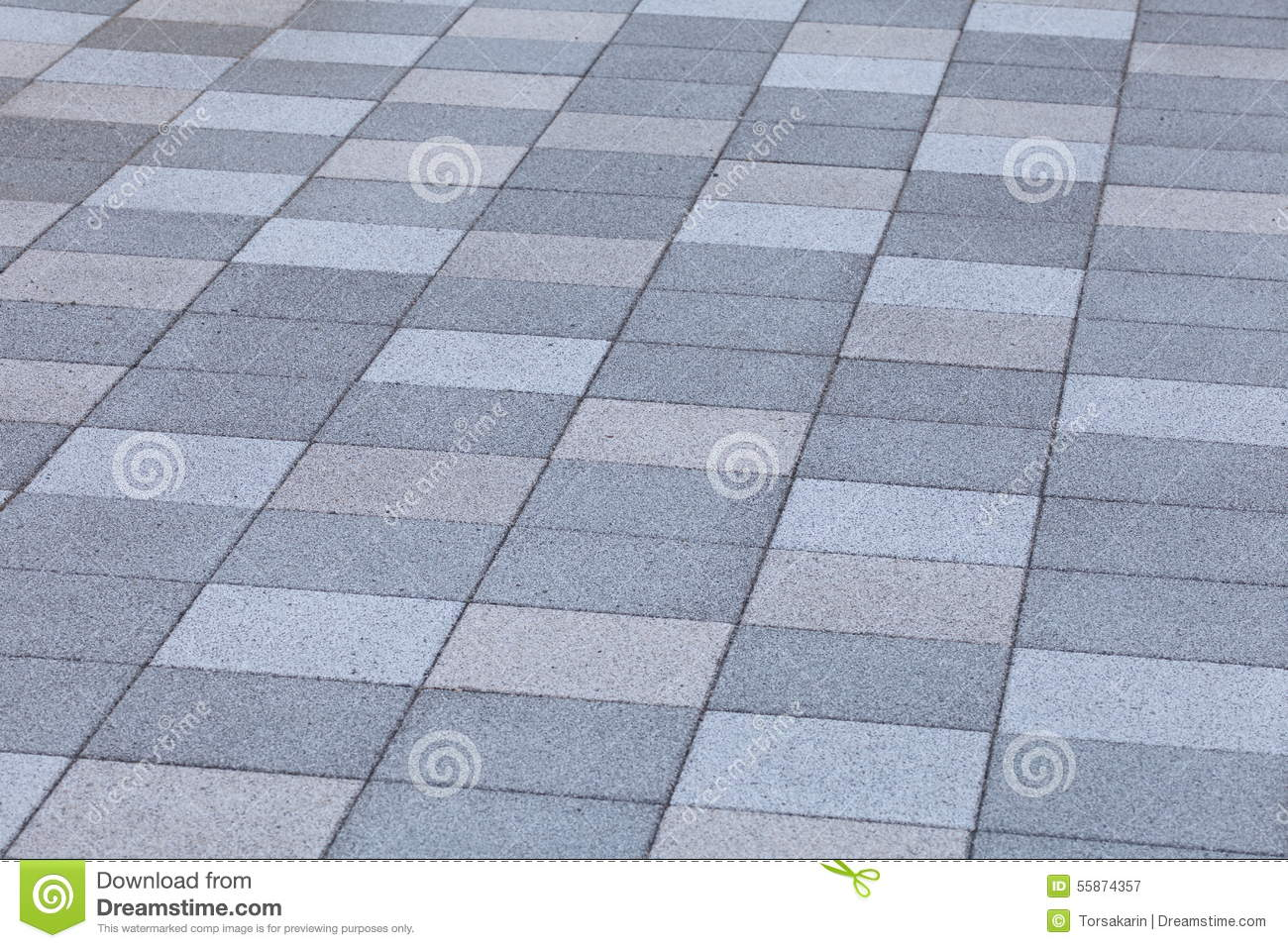 Outdoor concrete block floor stock illustration image for Concrete block floor