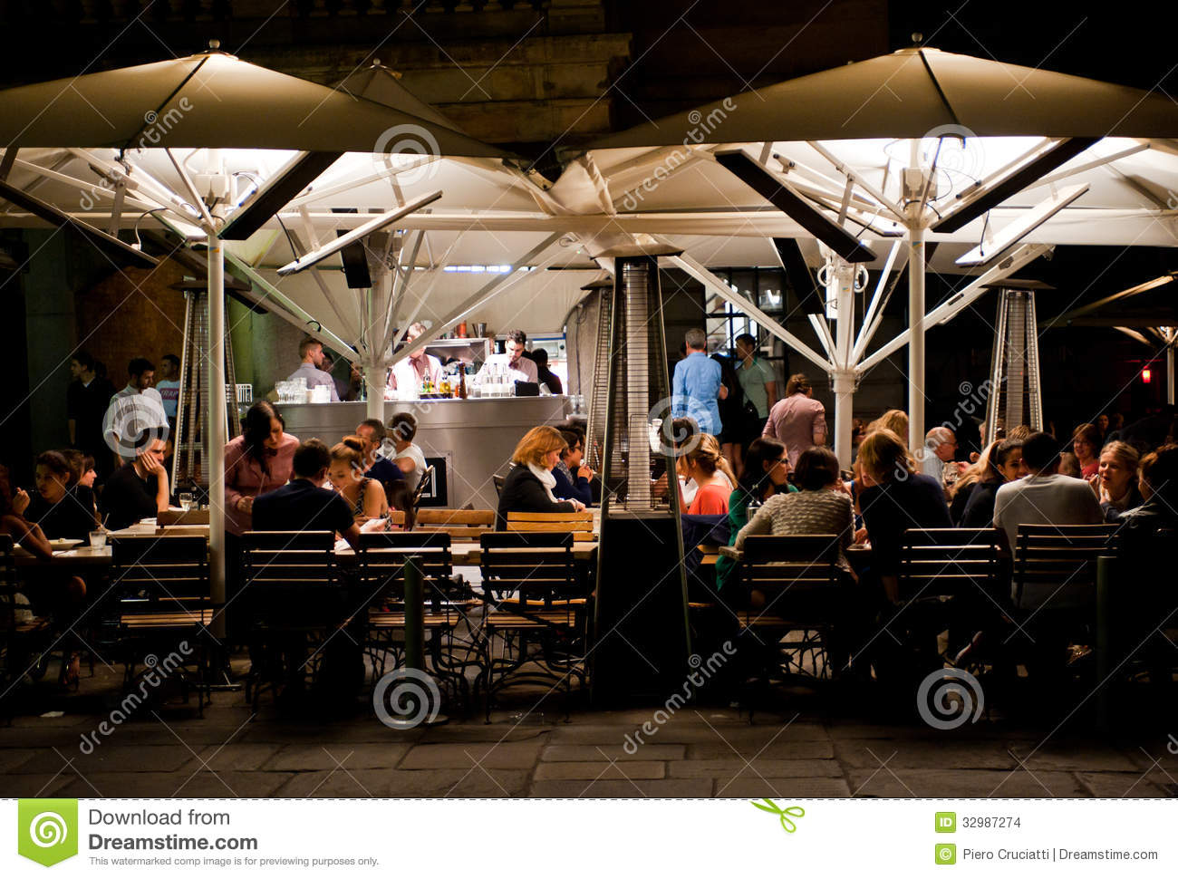 outdoor dining in london editorial stock image image