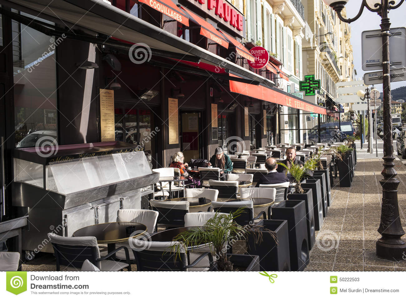 Outdoor Dining Nice France Editorial Stock Photo Image  : outdoor dining nice france street red canopy 50222503 from www.dreamstime.com size 1300 x 958 jpeg 223kB