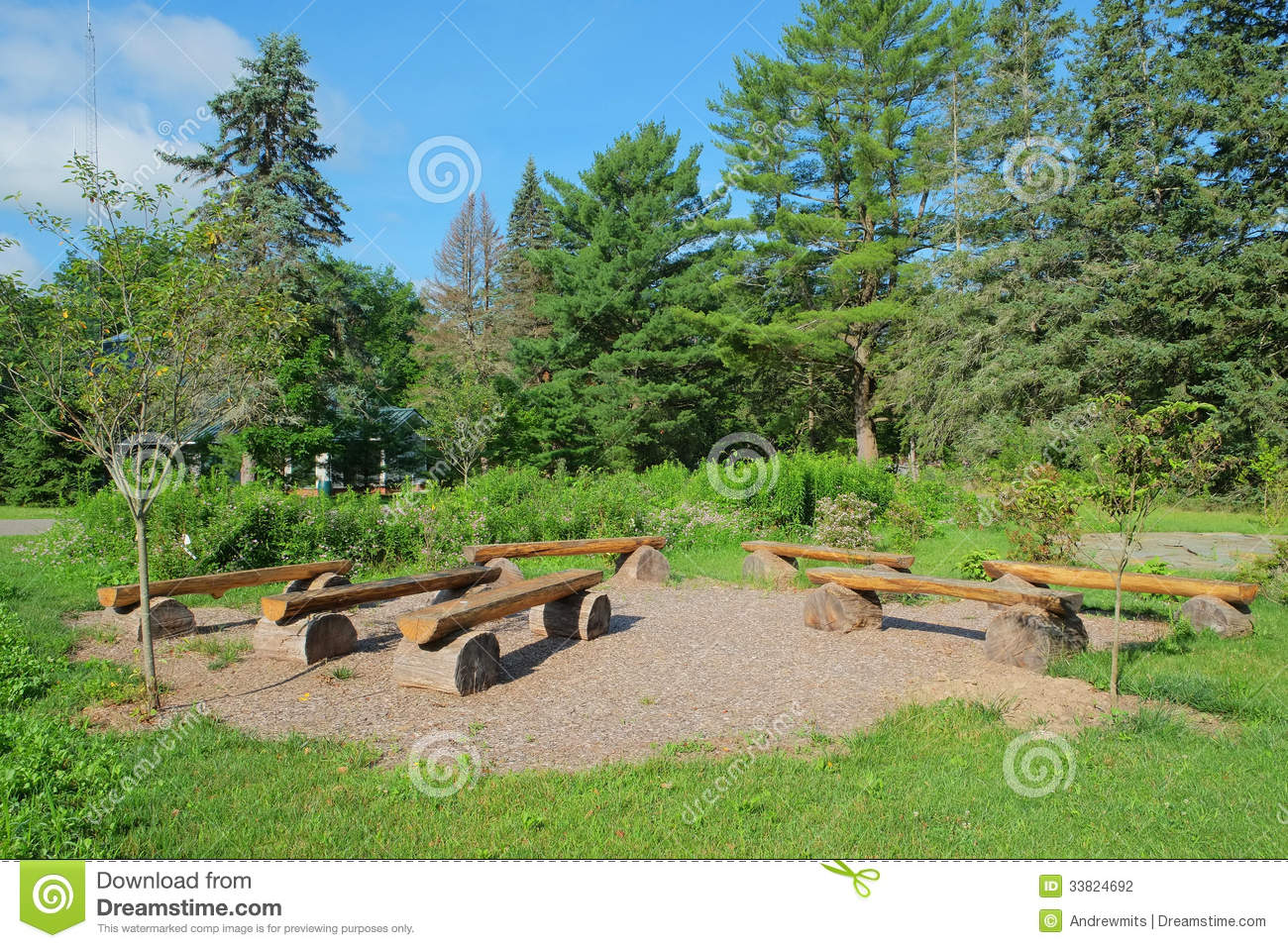 Outdoor Education Amphitheater Stock Photography Image