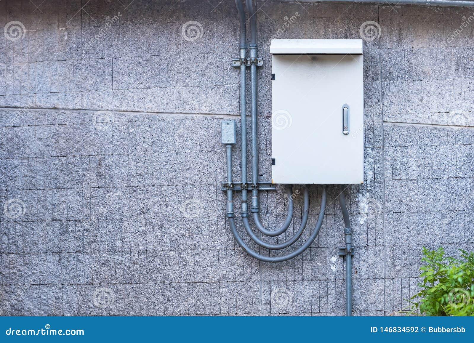Outdoor electric control box.Thailand