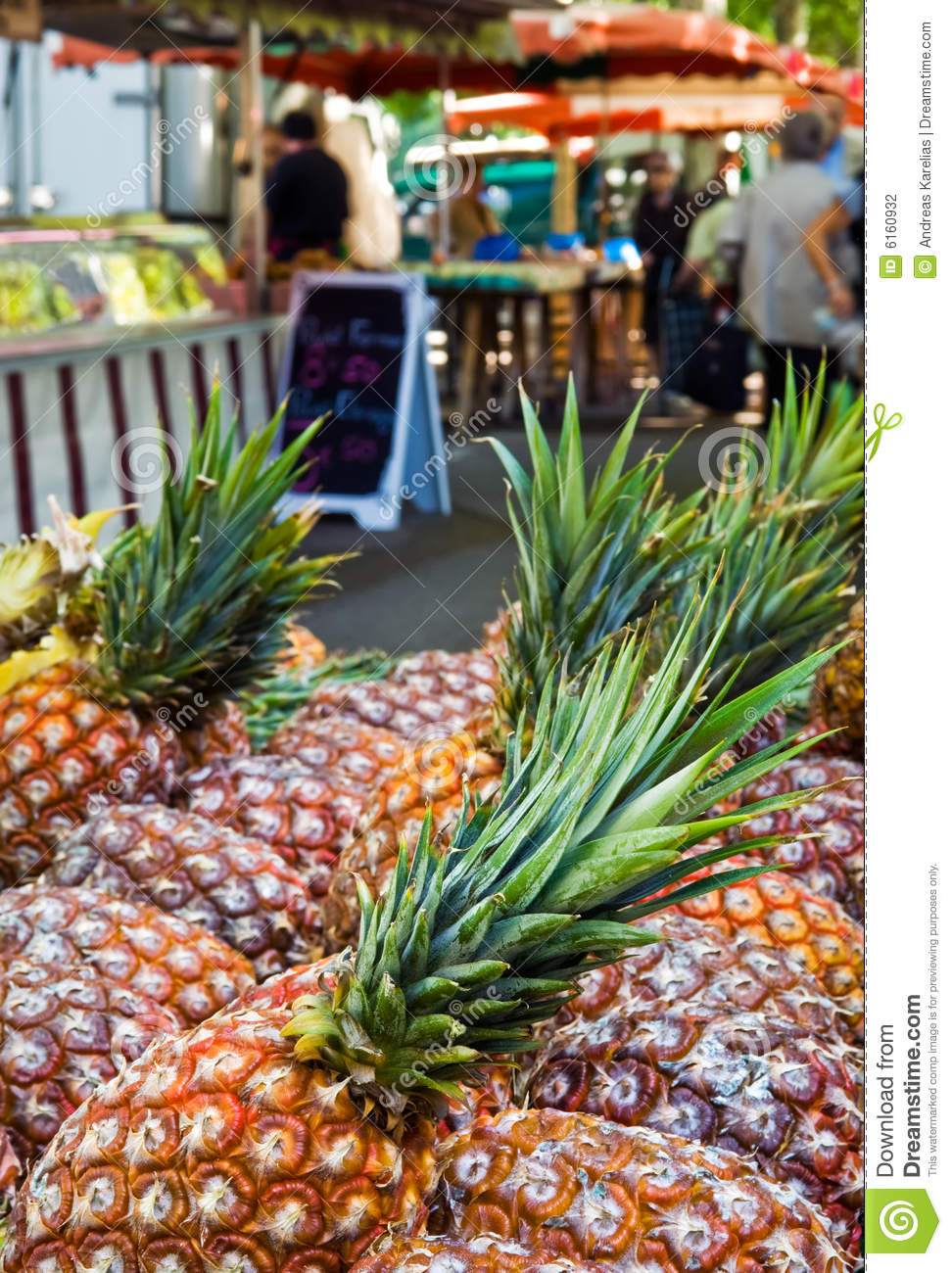 Outdoor food market stock photography image 6160932 for Outdoor food market
