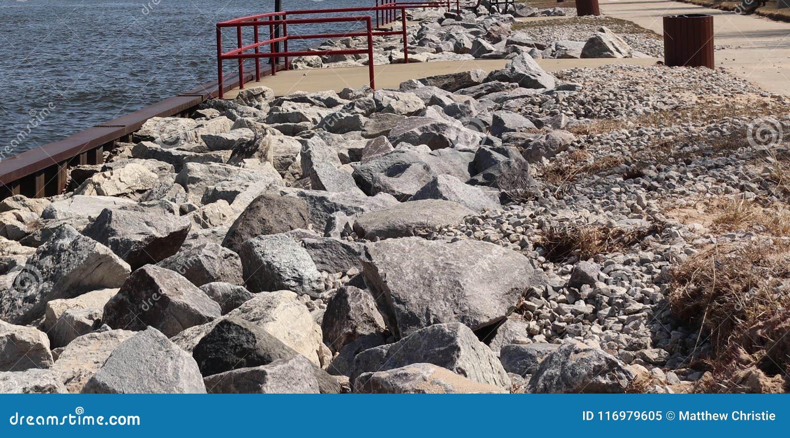 Outdoor, Lake Michigan, Sand, Rocks, Birds, River, Waves, Pier