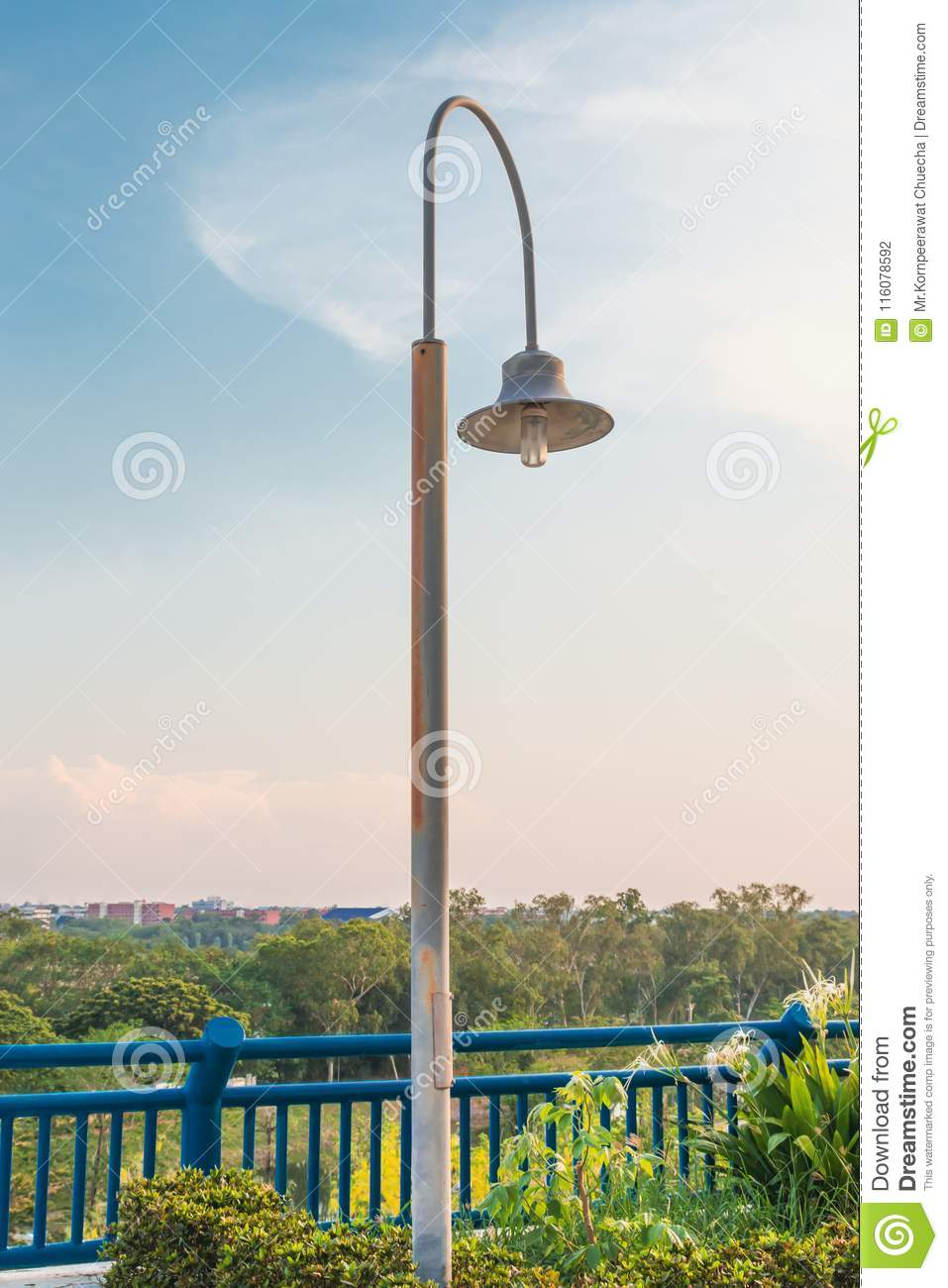 Outdoor lighting used for long rust stock photo image of ornament download comp aloadofball Images
