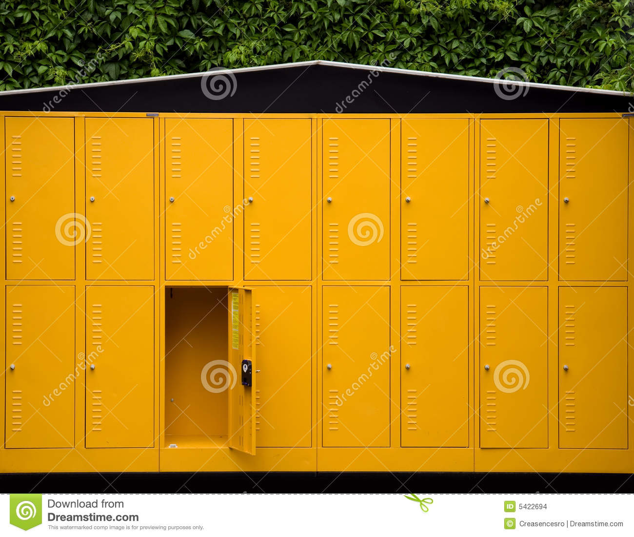 Outdoor Lockers Stock Images Image 5422694