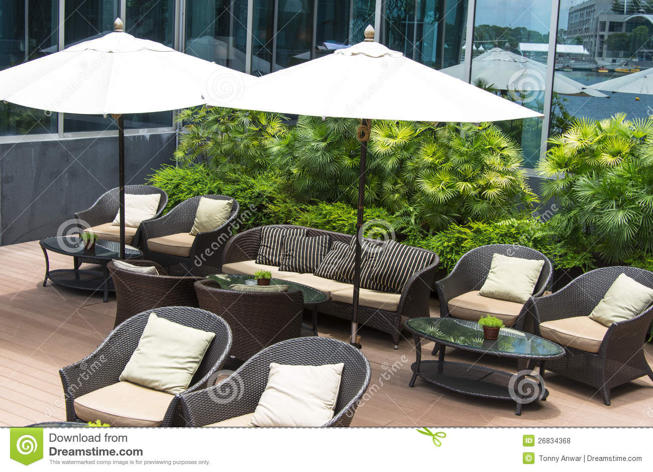 outdoor lounge royalty free stock photos image 26834368