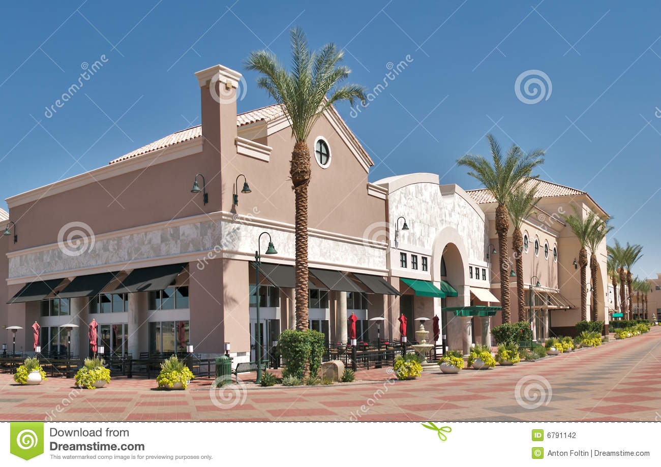 Outdoor Mall Stock Photography Image 6791142