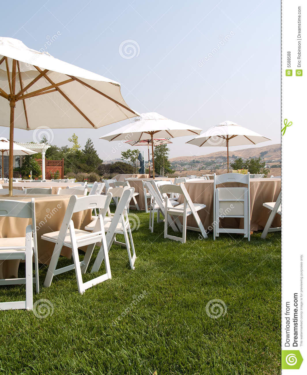 Outdoor Party stock photo. Image of wedding, outside ...