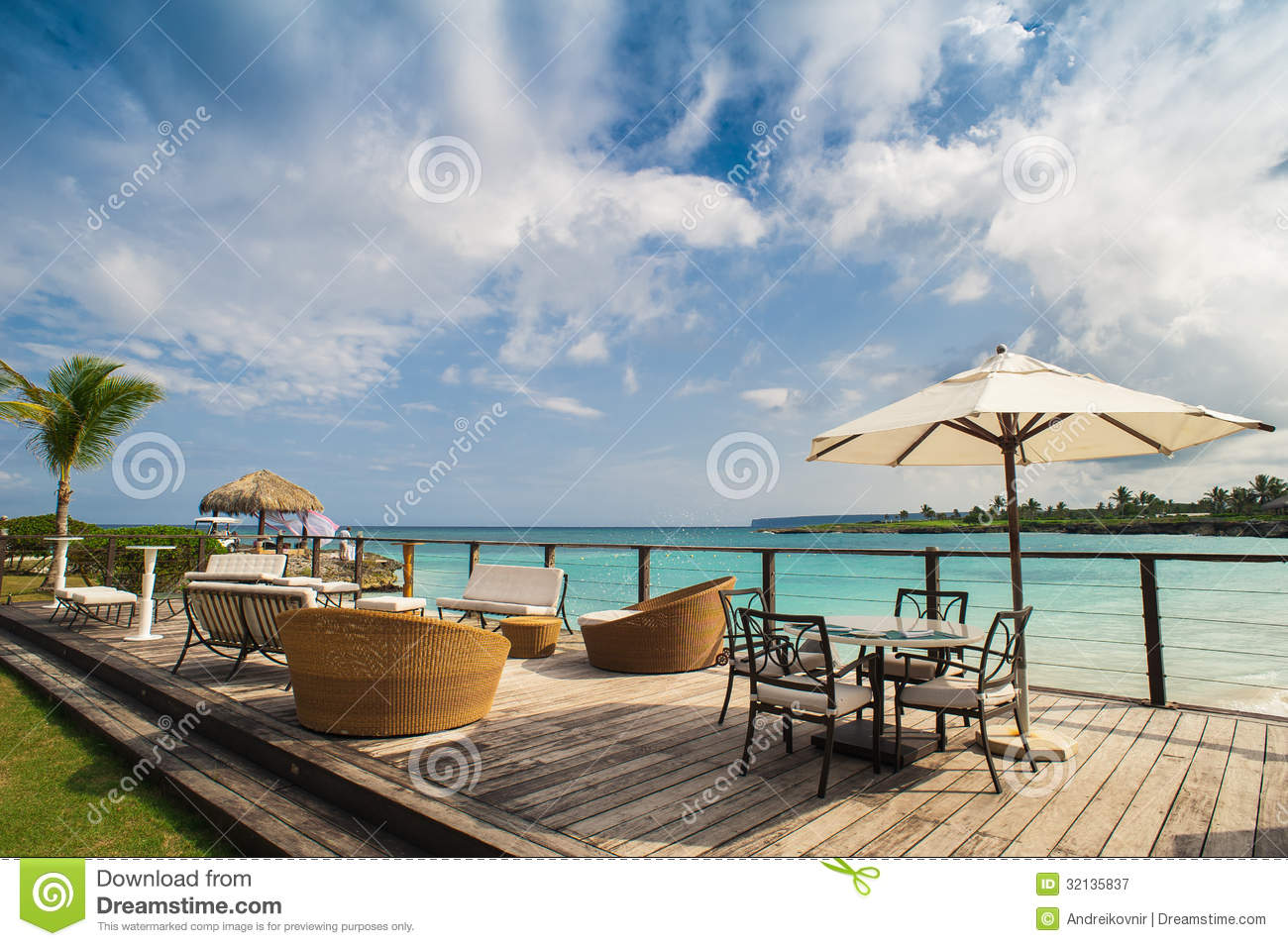 Outdoor Restaurant At The Beach Cafe On The Beach Ocean  : outdoor restaurant beach cafe beach ocean sky table setting tropical beach restaurant dominican republic 32135837 from www.dreamstime.com size 1300 x 955 jpeg 185kB