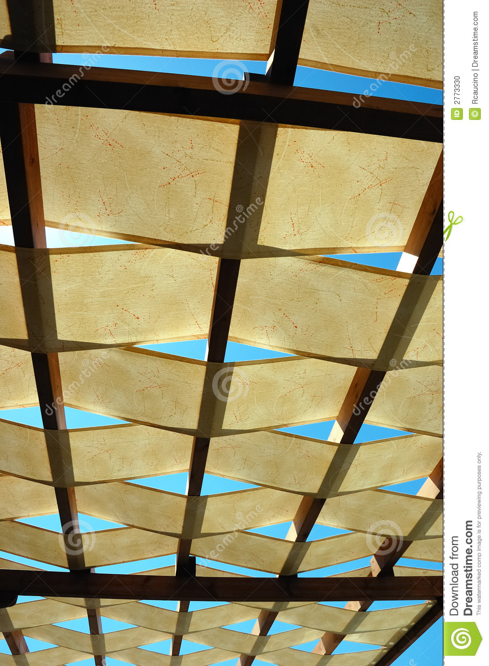 outdoor roof stock photo - image: 2773330