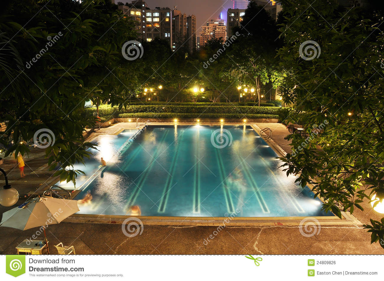 Outdoor swimming pool royalty free stock image image 24809826 for Easton swimming pool timetable