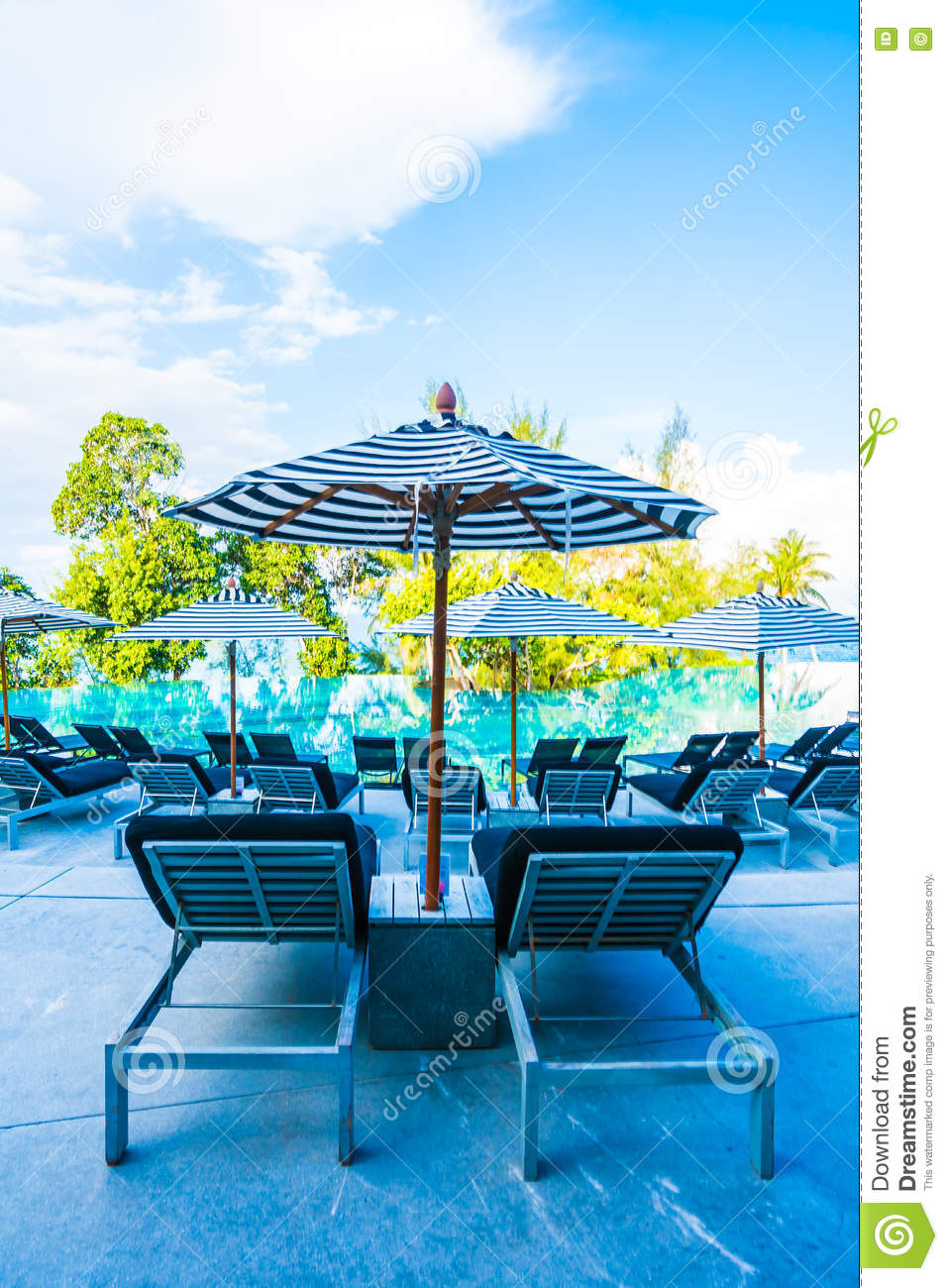 Outdoor Swimming Pool Stock Photo. Image Of Rest, Water