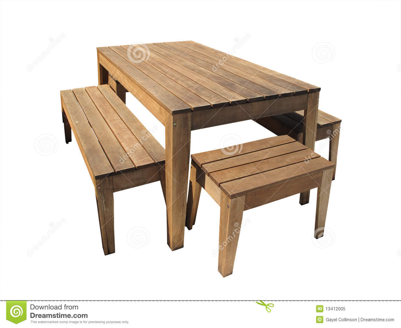 Outdoor Table Royalty Free Stock Photo - Image: 13412005