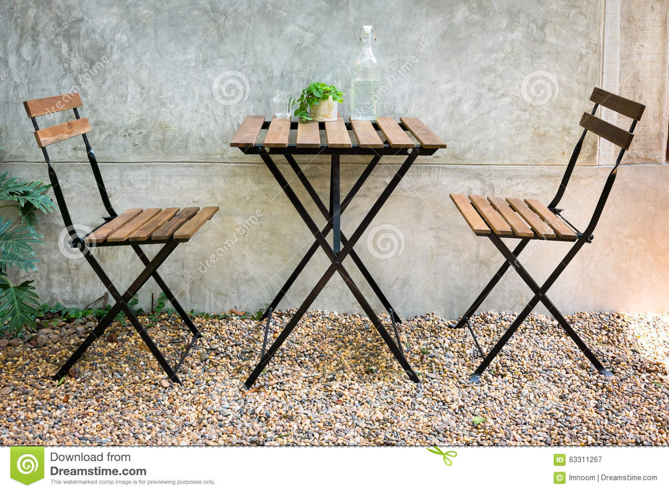 Outdoor table and chair stock image image of green background royalty free stock photo download outdoor table and chair geotapseo Gallery