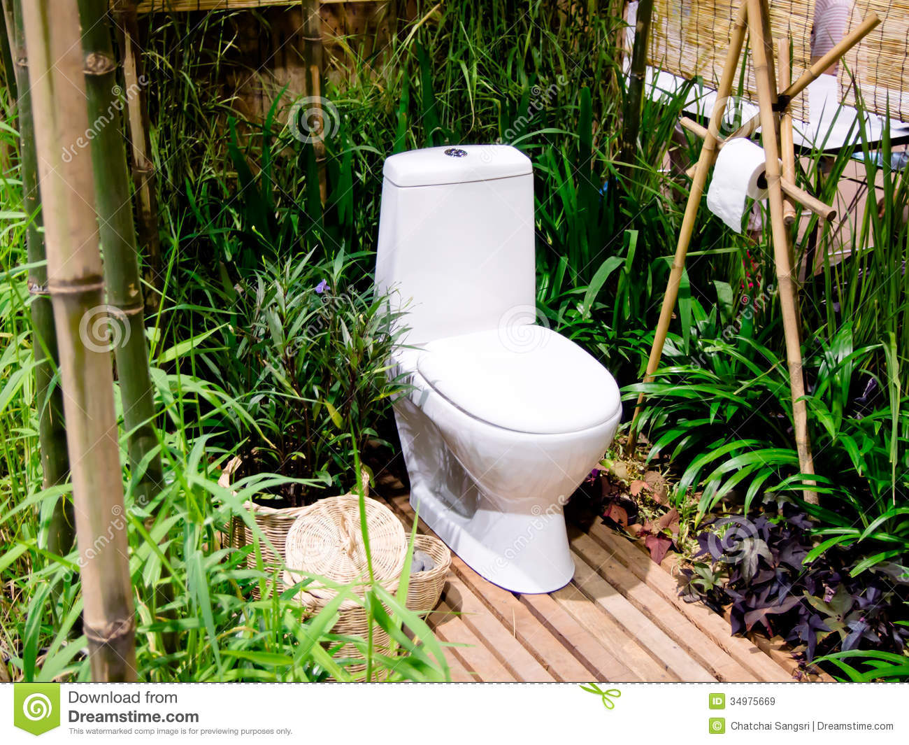 outdoor toilet royalty free stock images image 34975669 - Outdoor Garden Decor