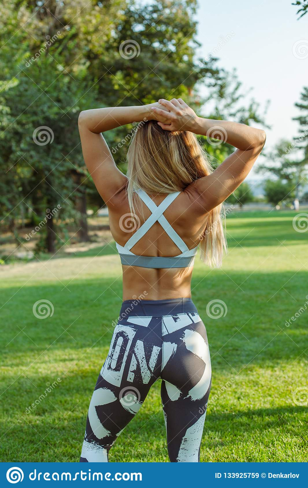 Outdoor training and workout