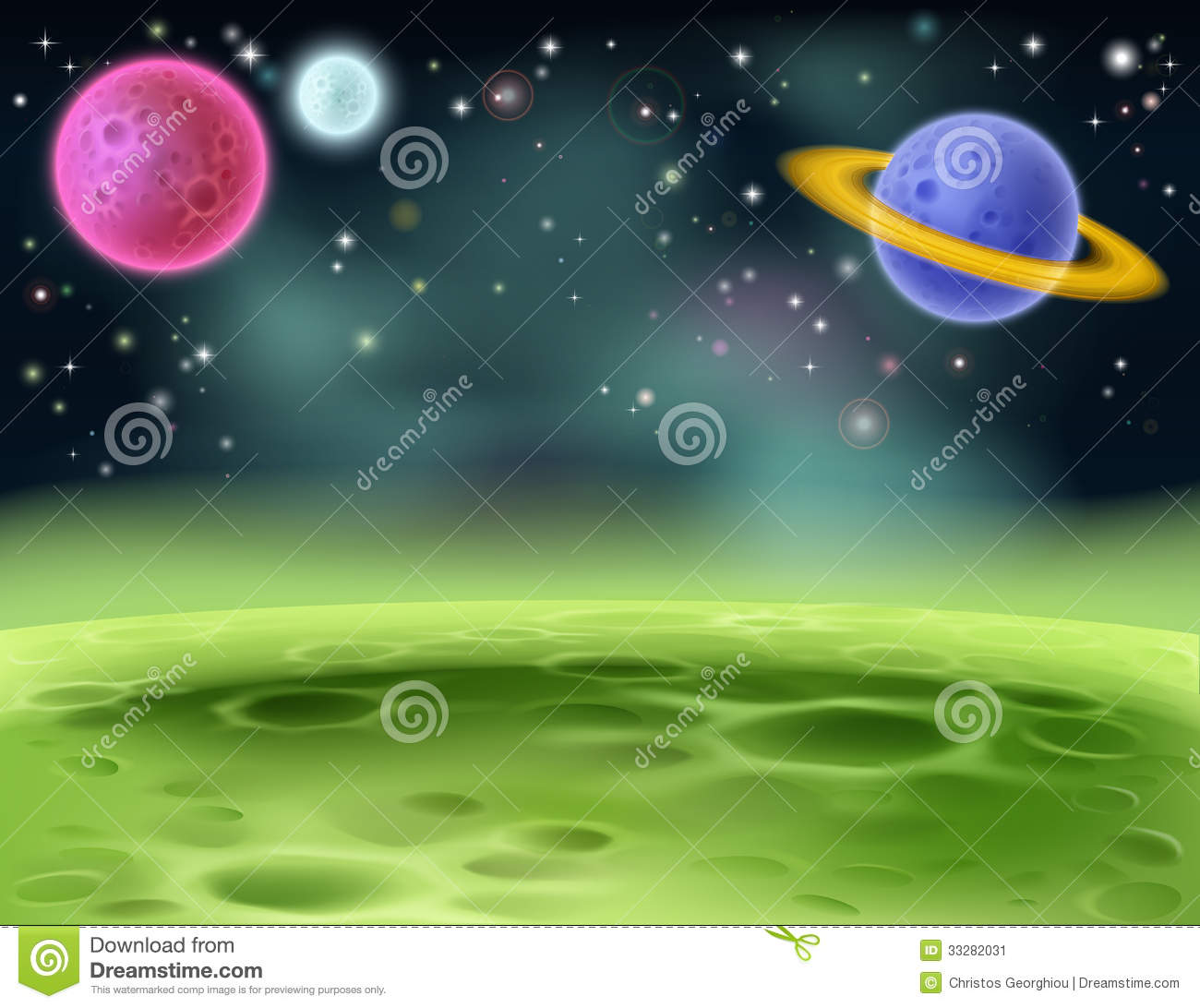 inner outer planets coloring - photo #21