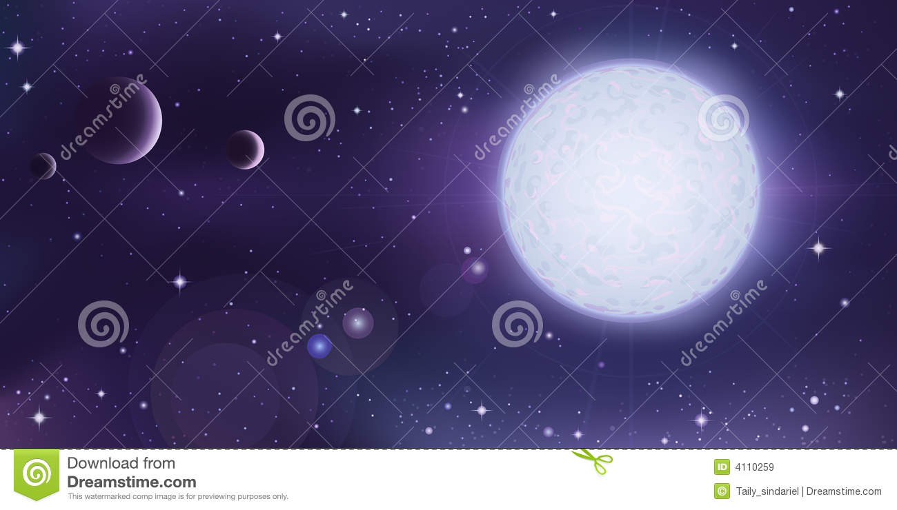 Outer space landscape royalty free stock images image for Outer space garden design