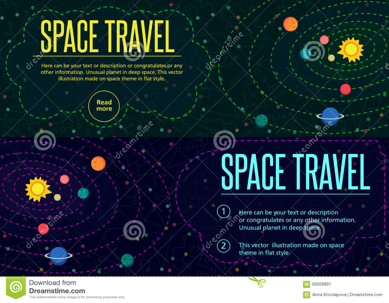 Outer space pattern texture in style flat stock vector for Outer space pattern