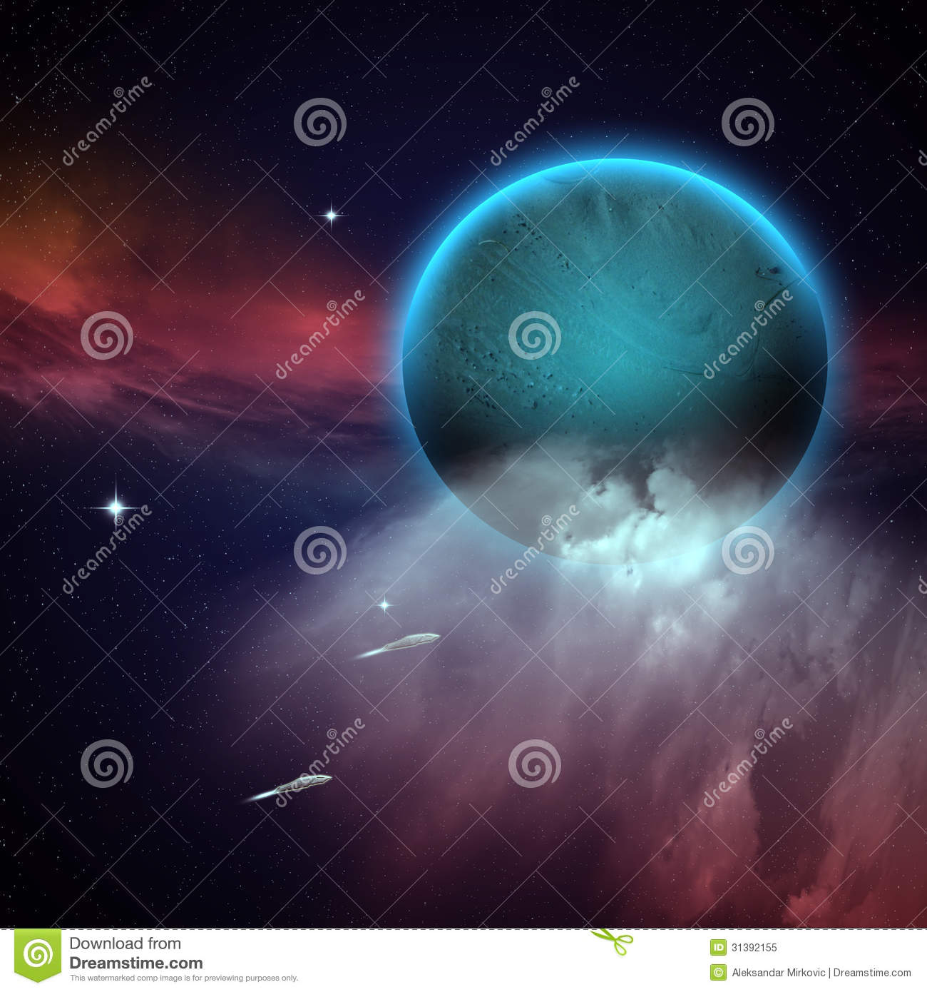 Royalty free stock photo outer space image 31392155 for Outer space scene