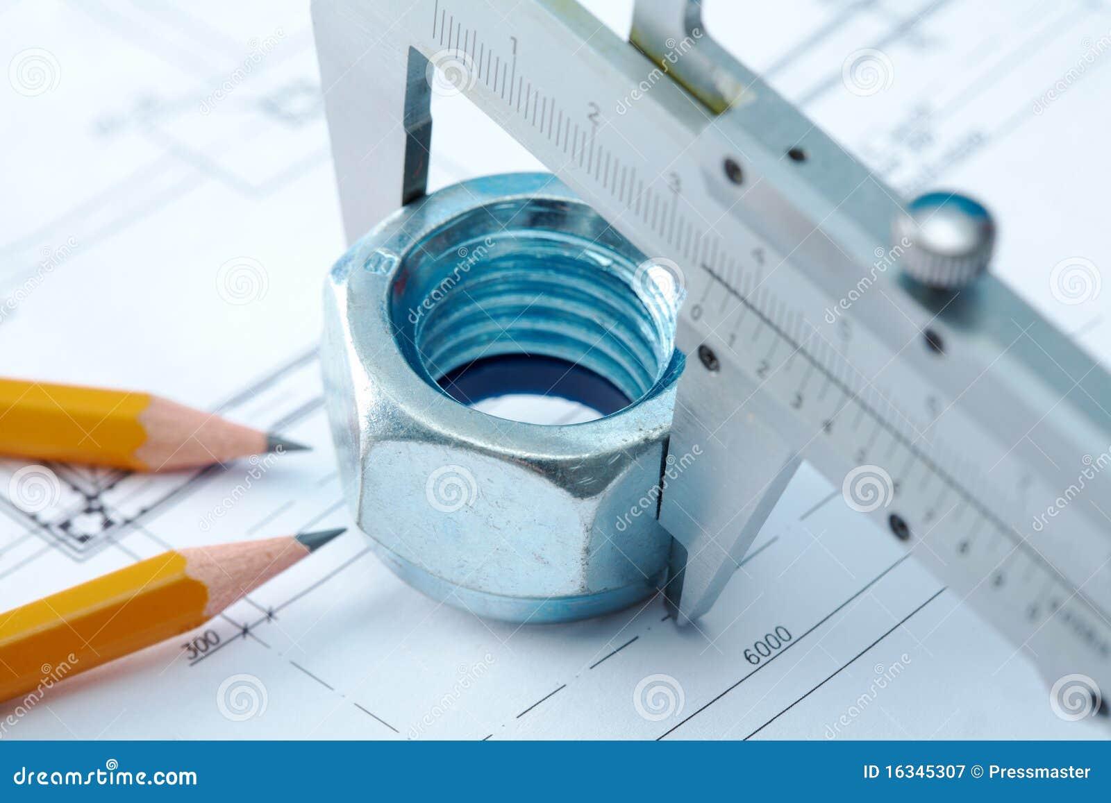 Outil d 39 architecte photographie stock libre de droits for Outils architecte